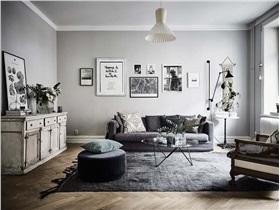 [公寓] 华丽与简洁之间的平衡美感