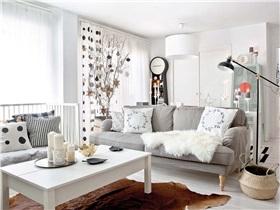 [公寓] 丰富的织品与装饰物,营造出优雅与梦幻