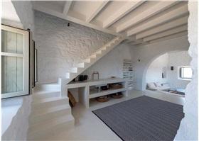 希臘島的房子