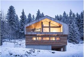 [建筑] 阿尔卑斯山上的度假屋