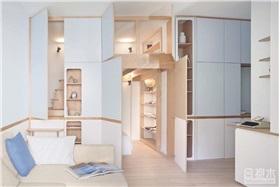 [公寓] 35平方米住宅收纳规划