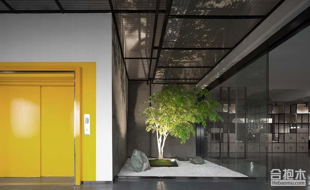 合抱木装修案例-[办公空间]  真研物语:办公空间设计