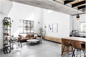 [現代簡約]  一座現代工業風格的居室