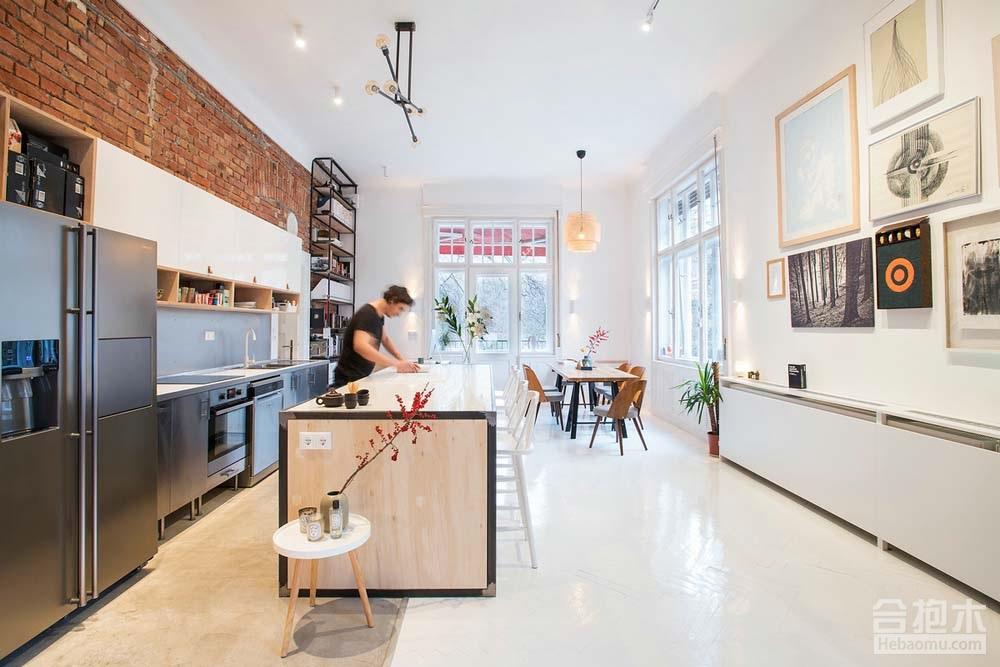 合抱木装修案例-[公寓]  102平方米公寓设计