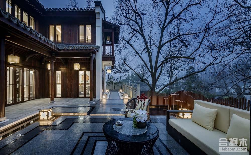 合抱木装修案例-[中式]  儒雅温润的中式风,美得如诗如画