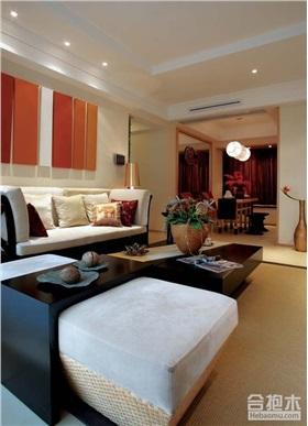 溪山美地園172㎡大戶型住宅設計 東南亞風格32W