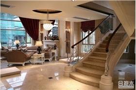 鳳凰城碧桂園380平別墅裝修 歐式風格大戶型住宅設計