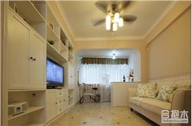 富力泉天下簡約風格住宅設計 120平米三居室設計