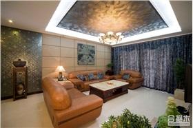 中海萬錦豪園四居室裝修 130平米新古典風格家裝設計