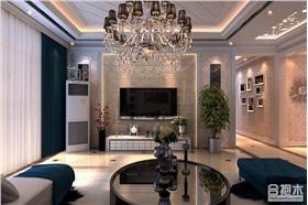 三居室裝修設計 廣園東方名都135平米住宅