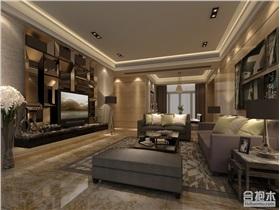150平米現代風格大戶型家裝樣板房設計