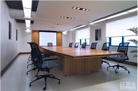 200平米現代風格公裝設計項目 國藥集團辦公室設計