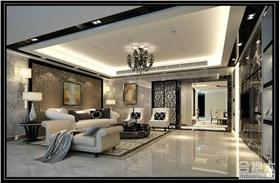260平米現代風格大戶型家裝設計
