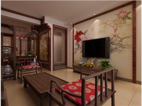100㎡中式風格装修设计效果!送给父母安度晚年享乐居!