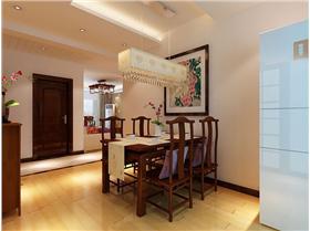 【林隐天下】优美中式風格 152平中式四居室裝修效果圖赏析