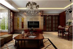 泰安丽景二期,马赛克与木纹砖打造完美家居~