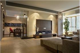 咖啡般純情浪漫 99平米三居室自然簡約溫暖