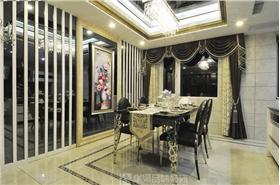 軟包金屬玻璃墻,黑白大氣色調,永不退色的經典