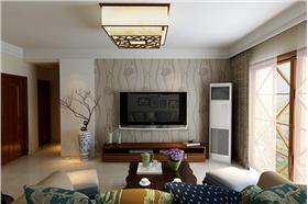 74㎡新古典创意二居装修,时尚不乏时尚的魅力