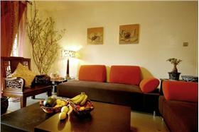 柔美飄窗~裝點閑暇花樣時光,陽臺茶座~打造88平好客小家溫馨格調