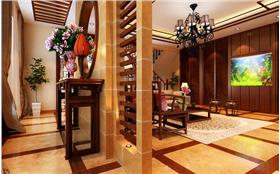 62.8W打造魅力中国独栋別墅 传统中国文化彰显大气