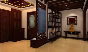 實木家具和深厚色彩的完美融合創造出新文化的極美體驗