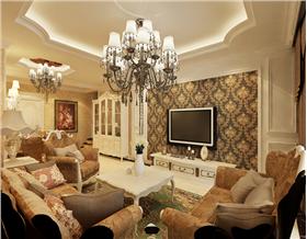 【保利拉菲公館】——歐式風格三居室,不一樣的歐式,不一樣生活