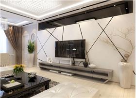 打造锦绣家园90平米温馨雅居,簡約不等于简单,经过深思熟虑后经过创新得出