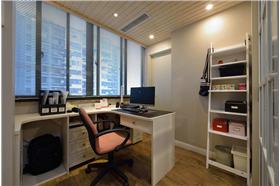 在简约中添加了些许的自然元素,给你一个清爽舒适的空间⊙▁⊙