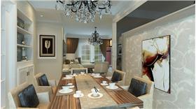 現代簡約風三居,寧靜,淡色家具,給你一個溫馨簡單的家。