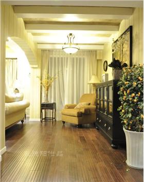 与众不同的电视墙,黄色沙发与黄色墙面的完美搭配