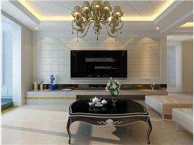 簡約曲線vs精巧收納,新古典三居裝修優雅盡顯