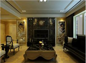 黑白新古典,三居室一樣大氣
