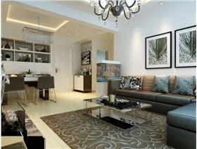 【保利香檳國際】現代時尚風格設計——給你一個精致典雅的生活空間