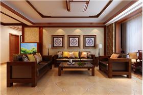 【歐陸園】139平米新中式風格家居空間,你的不二選擇。