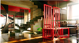 绚丽桃红,浪漫艺术,慵懒温馨新中式大宅