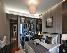 红星美凯城·106平米两居室新中式風格 呈现更简洁更文雅の中式文化