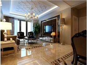 94平米二居室 时尚设计打造新古典魅力简约家装