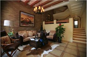 传统的美式风格彰显别墅贵气,打造家装好魅力