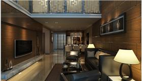 古樸典雅富有親和力打造海印星玥85平古樸典雅兩居室