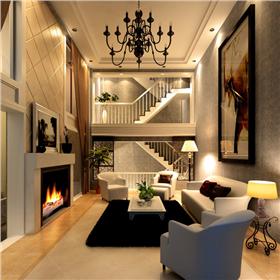 電視墻混進大收納,簡歐公寓臥室設計更講求實用與美觀二合一
