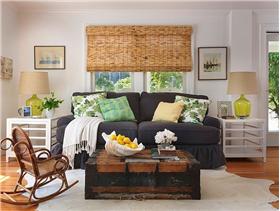 轻快的色彩、自然的家具,打造温馨复式住宅