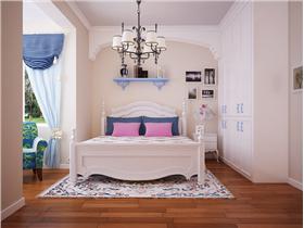 清新藍白最養眼,小夫妻追求浪漫風,10萬打造地中海二居裝修