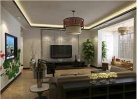 【雍华府朝华园】两室两厅打造大气新中式时尚