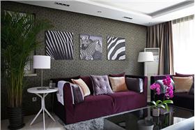 款款大方 明凈簡潔 二居室經典簡約風格