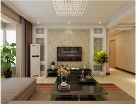 """【棕櫚灣】現代簡約三居,打造""""優雅、輕巧、舒適""""的空間氛圍。"""