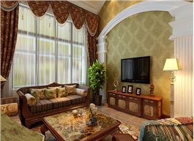 ? ? 97平米三居室 极力打造美式休闲舒适风VS高品位!