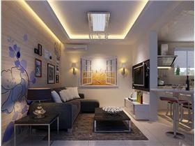 【西城山水居】简约风格-两居室,不是每一次的简约,都能获得经典