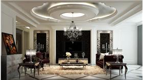 大戶型新古典風格,領略大氣的家居設計