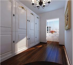 自由,安全,舒適,和藹且富有人情味的120㎡簡約歐式三居室。